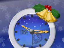 Chistmas Time Imagine Clock