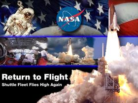 Space Shuttle Discovery - Return to flight