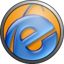 Internet Explorer Orange