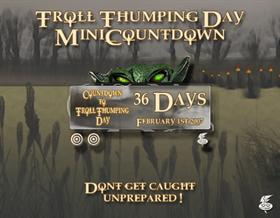 Troll Thumping Day Mini- Countdown