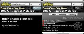 RottenTomatoes Search & RSS Tool