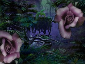 Jungle Rose_wallpak