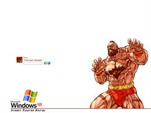Street Fighter Logon - Zangief