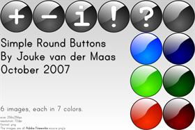Simple Round Buttons
