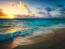 Aqua_Sea_Waves_Sunset