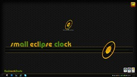 Eclipse Clock Widget