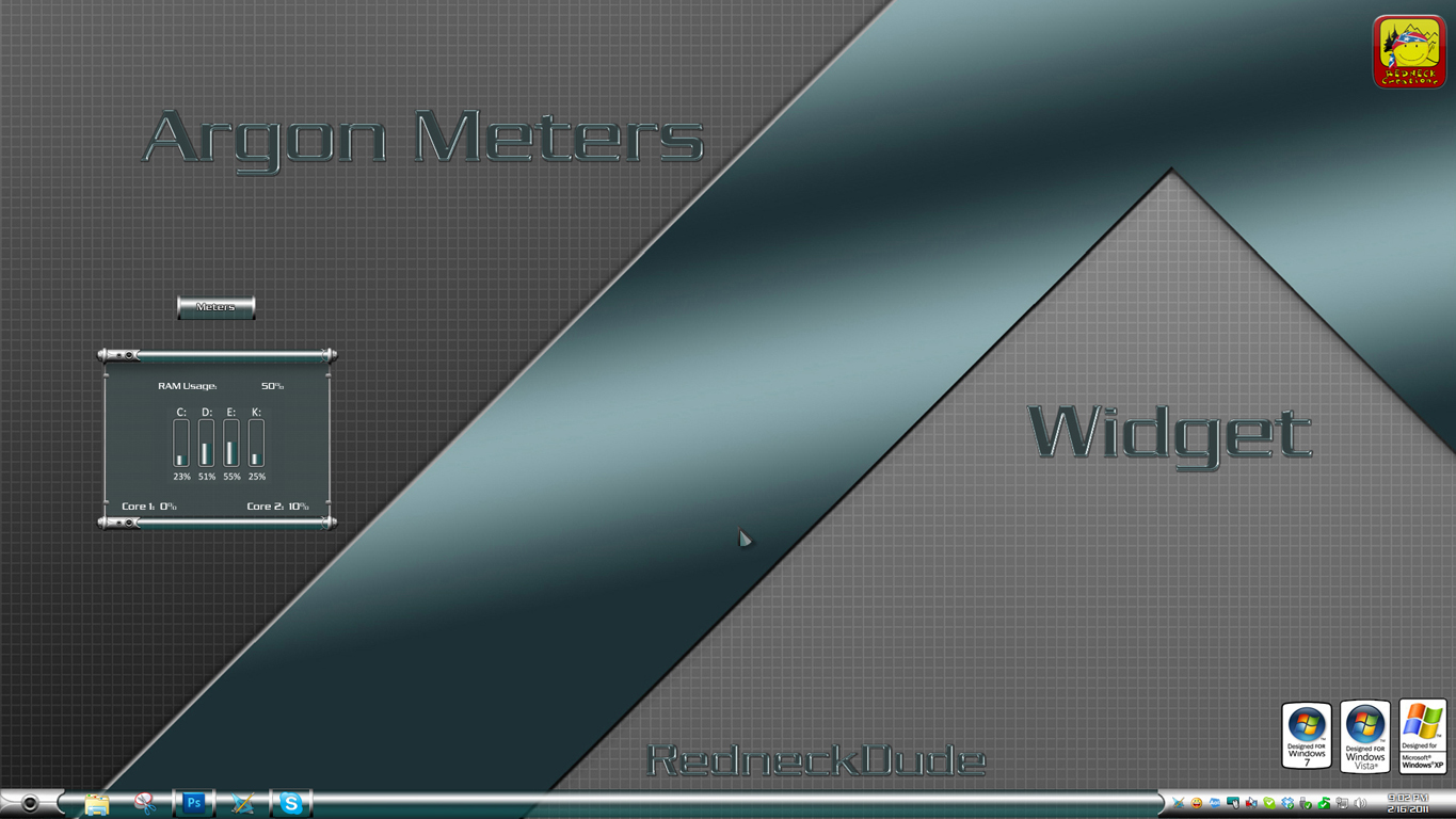 Argon Meters Widget
