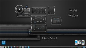 Dark Steel Multi Widget