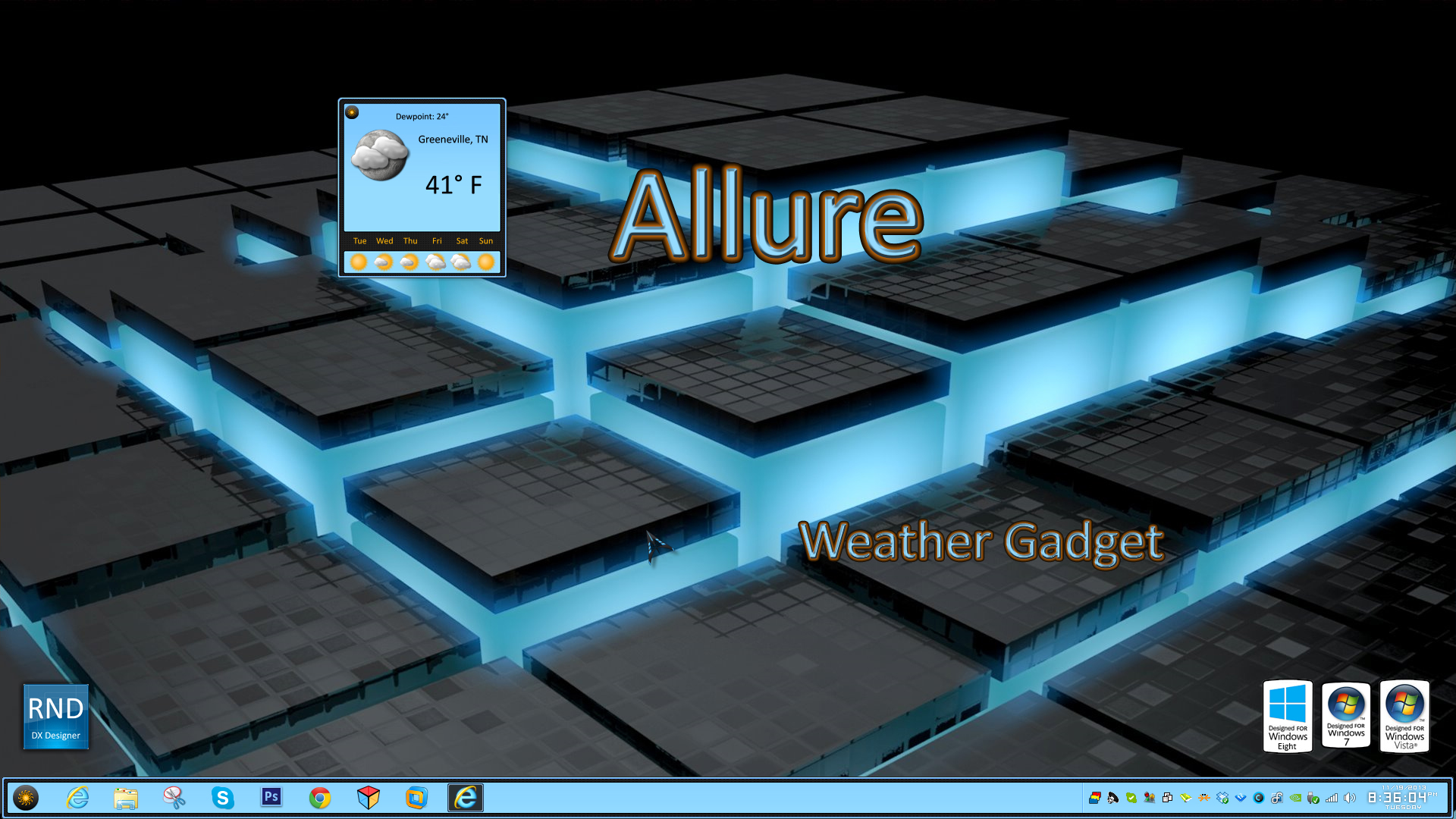 Allure Weather Gadget