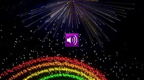 Colorful Fireworks wSound