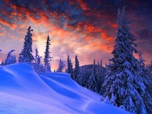 Red Sky Winter