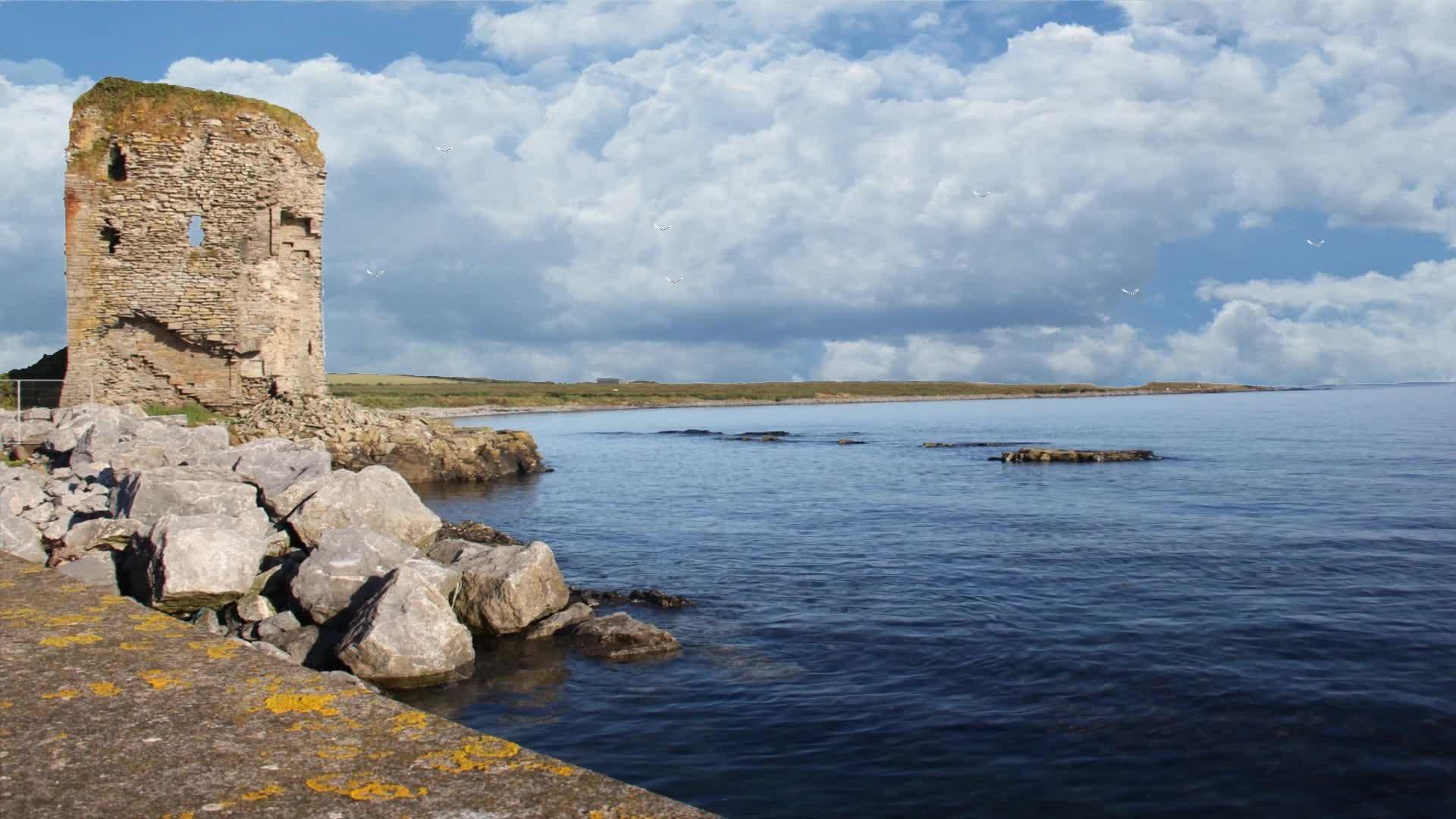 Irish Beachside Castle