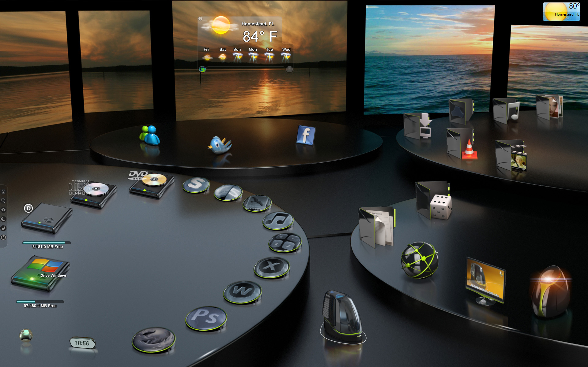 Desktop X With 3d Themes Software Free Download [ 84 MB ...