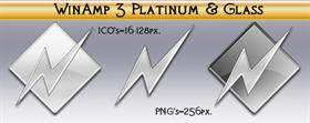 Winamp Platinum & Glass