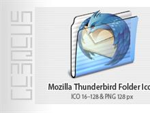 Mozilla Thunderbird Folder Icon