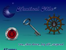 Nautical Mile run_shut down_log off_suspend