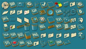 FMT Blue Iconpackage